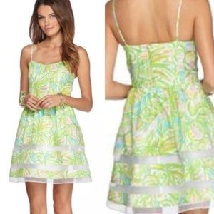 Lilly Pulitzer Ollie Dress In Elephant Ears Print